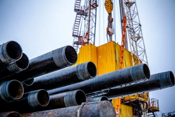 Oil drill pipe.